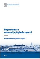 Yritysverotuksen asiantuntijatyöryhmän raportti