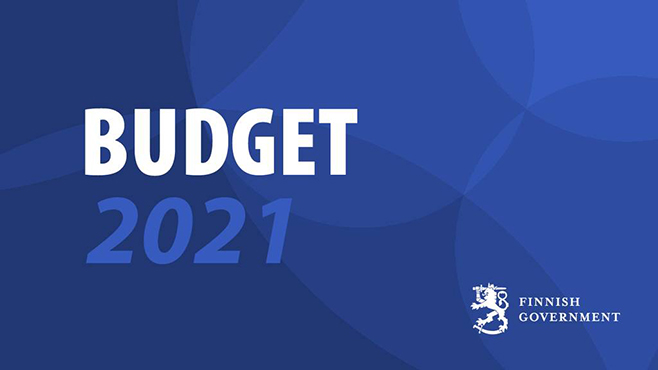 Budget 2021 Finnish Government.